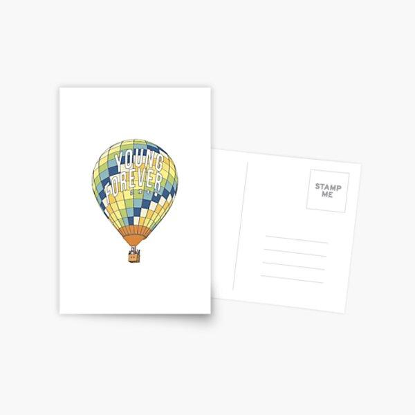 ewig jung Postkarte