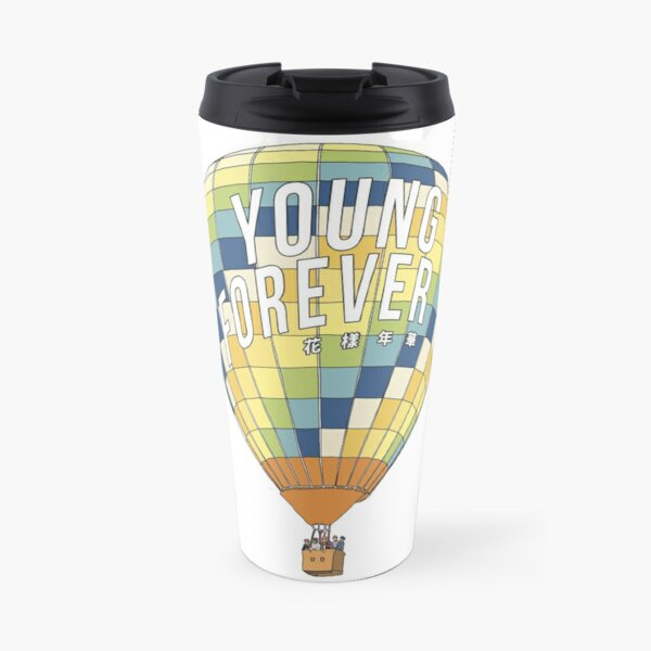 young forever Travel Mug