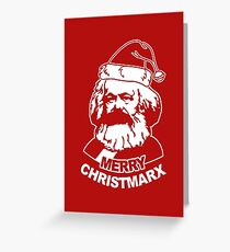 Ho Ho Ho Merry Christmarx- Funny Christmas Greeting Card
