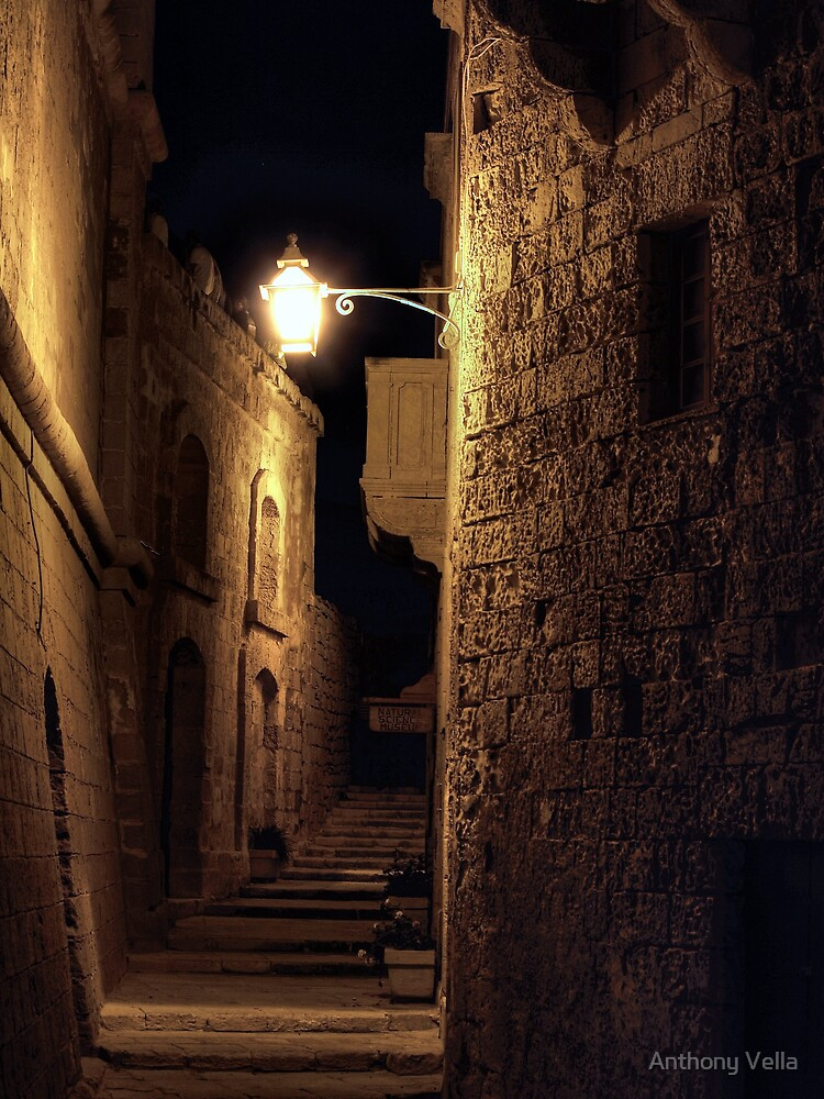 The Cittadella at Night by Anthony Vella