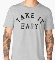 Take It Easy Quote Men's Premium T-Shirt