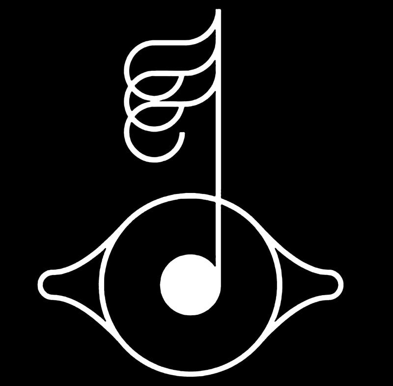 Björk biophilia symbol | Art Print