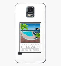Lido Poster Penzance Jubilee 2 Case/Skin for Samsung Galaxy