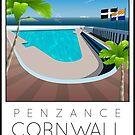 Lido Poster Penzance Jubilee 2 by Steven House