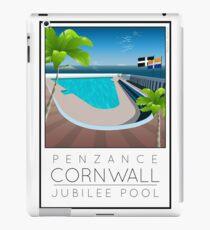 Lido Poster Penzance Jubilee 2 iPad Case/Skin