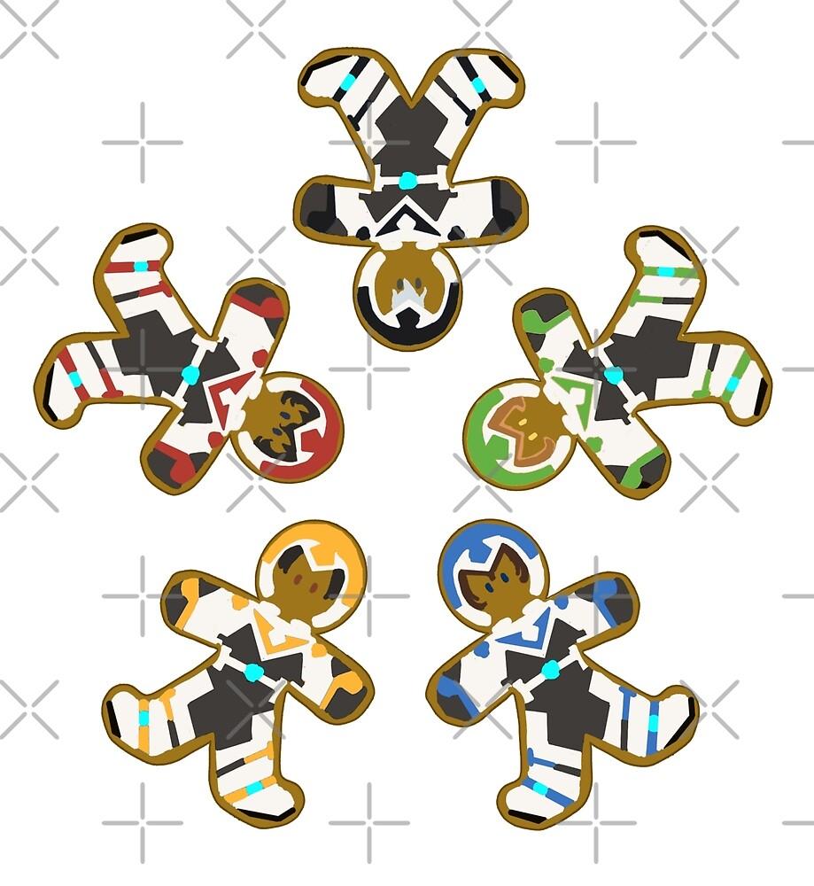 Ginger Paladins S1-2 Set by ChocoboMausi