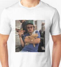 Joe Keery, Champagne and Pomeranian  Unisex T-Shirt