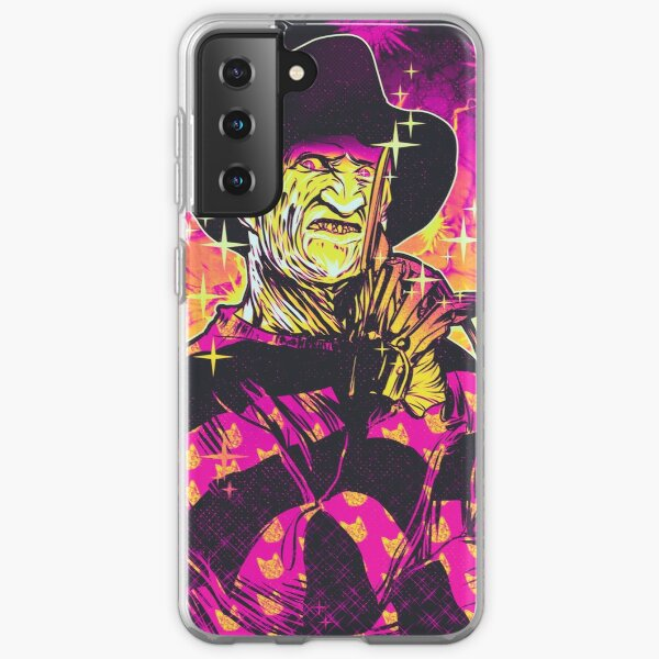 Neon Horror: Freddy  Samsung Galaxy Soft Case