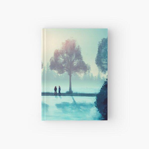 Winter sun Hardcover Journal