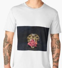 skull and rose Men's Premium T-Shirt
