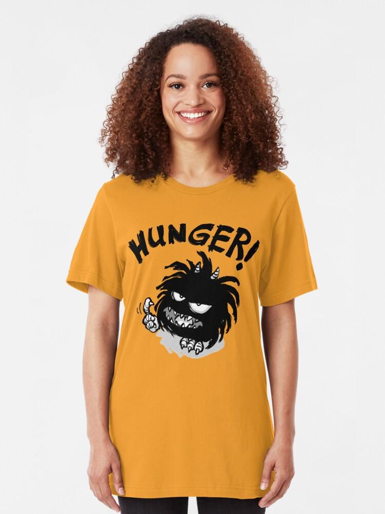 Alternative Ansicht von CORNIBUS HUNGER! Slim Fit T-Shirt