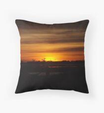 Port Hedland Sunset Throw Pillow