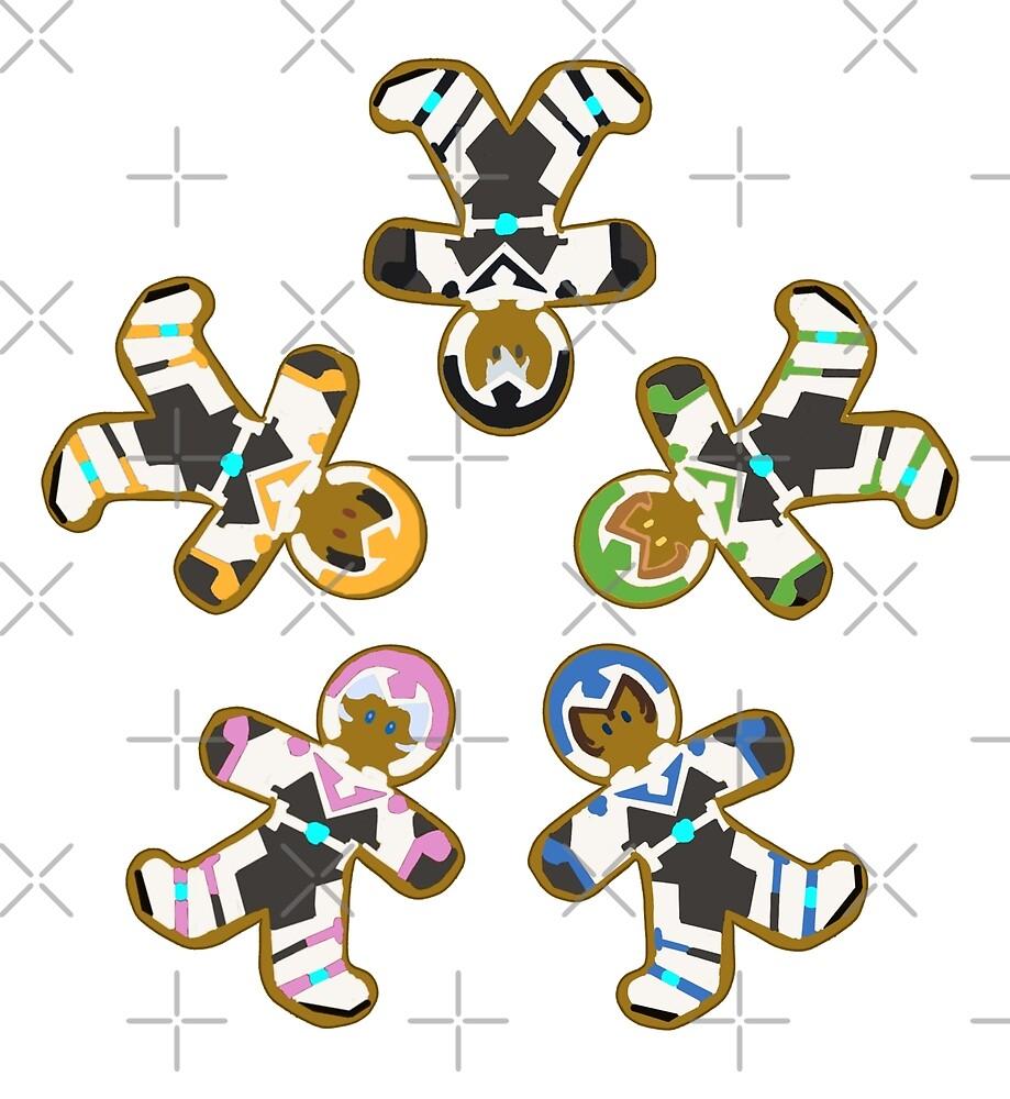 Ginger Paladins S4 Sticker Set 3 by ChocoboMausi