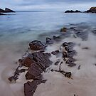 Water and Rocks, West Coast, Assynt, Scotland by Cliff Williams