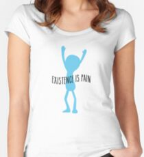 Meeseeks - Existence is Pain Women's Fitted Scoop T-Shirt
