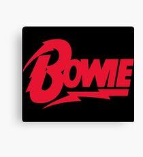 Bowie Logo Canvas Print
