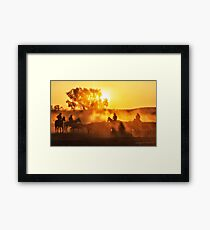 Golden Moments Framed Print