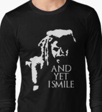TWD - King Ezekiel: and yet I smile! Long Sleeve T-Shirt