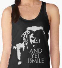 TWD - King Ezekiel: and yet I smile! Women's Tank Top