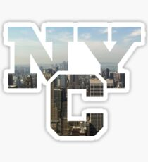 NYC Monogram Sticker