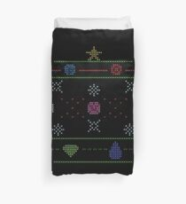Holiday SU Gems Sweater Duvet Cover