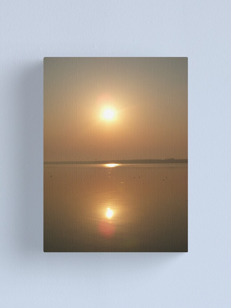 Alternate view of The Sun and The Sea Canvas Print