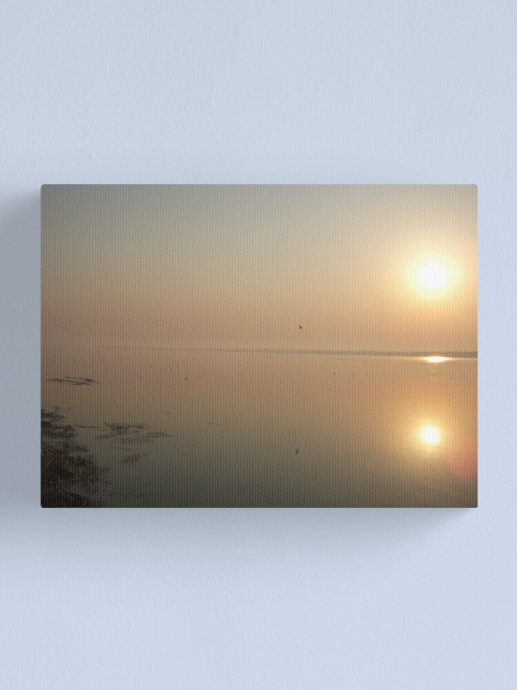Alternate view of The Sun Versus The Sea Canvas Print