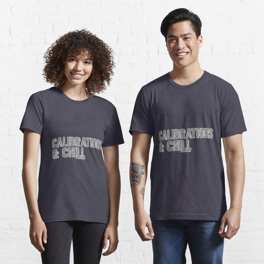 Mass Effect Garrus Calibrations & Chill  Essential T-Shirt