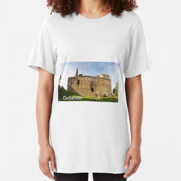 Linlithgow Palace HDR  ( Wentworth Prison in Outlander TV series ) Slim Fit T-Shirt