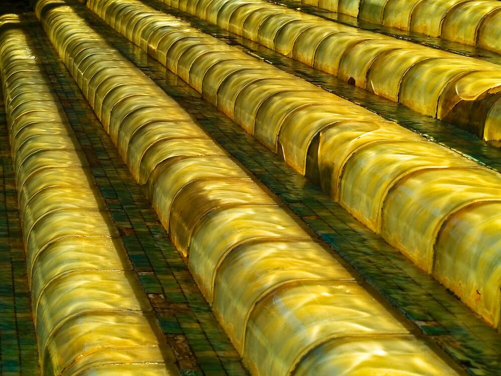 Golden Steps. by David Platt-Chance