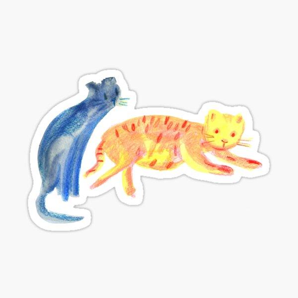 Cats life Sticker