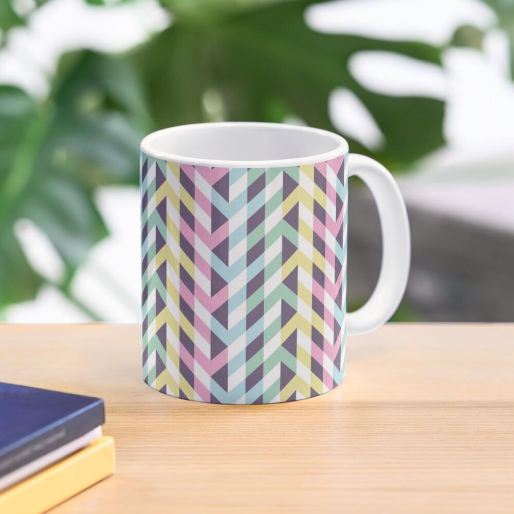 Pastel arrows of illusion Mug
