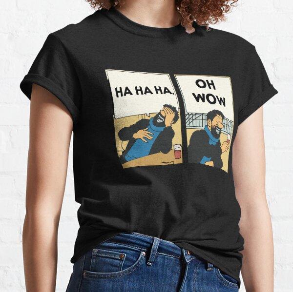 Tintin - Captain Haddock - Oh Wow Classic T-Shirt