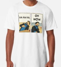 Tintin - Kapitän Haddock - Oh Wow Longshirt