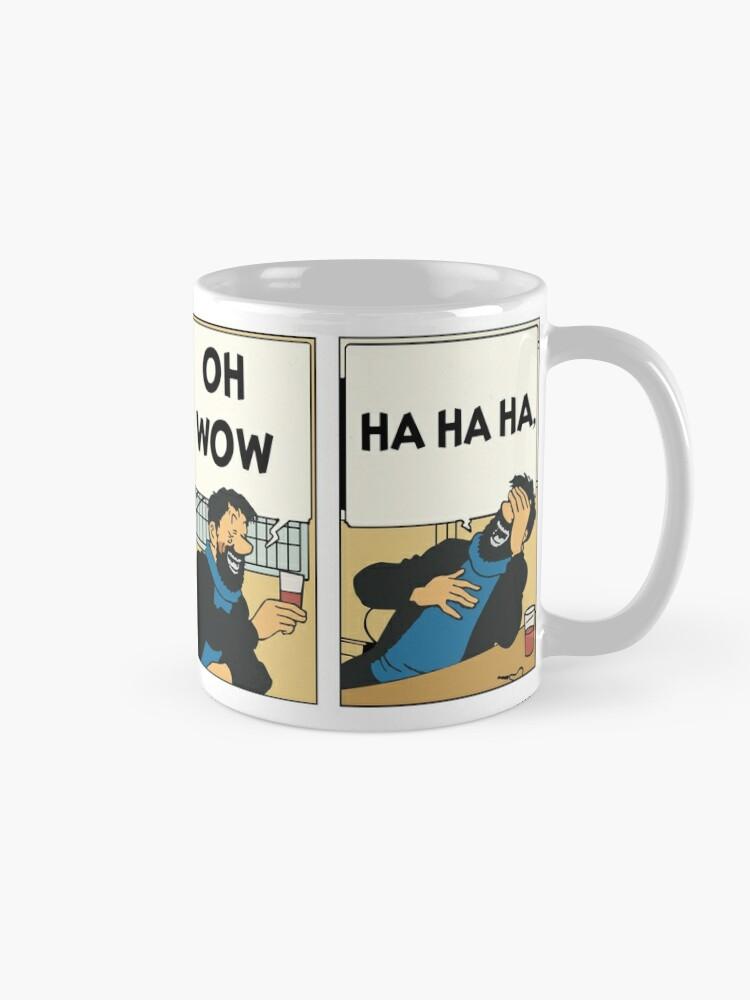 Oh Captain Haddock Oh WowMug Captain Tintin Tintin Haddock v8nmwON0