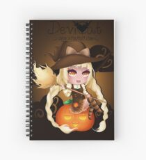 Punkin Chibi Witch - 2017 Spiral Notebook