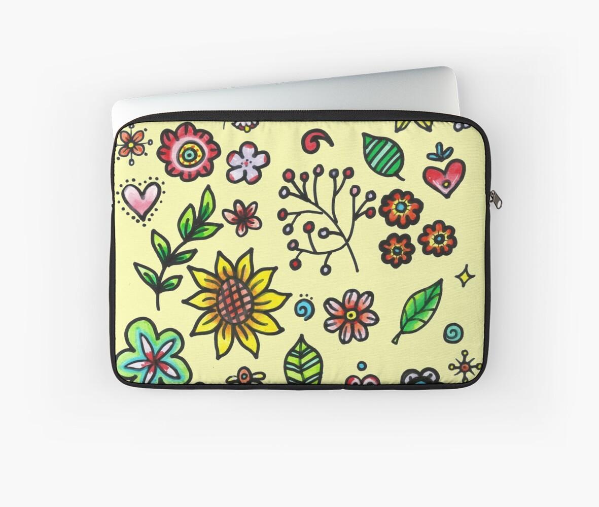 Hand Drawing Flora & Fauna Doodles \