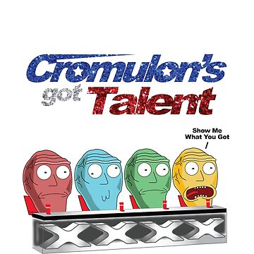 Cromulon's Got Talent - Rick and Morty by Mrmasterinferno
