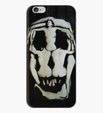 Salvador Dali Skull Darkened iPhone Case