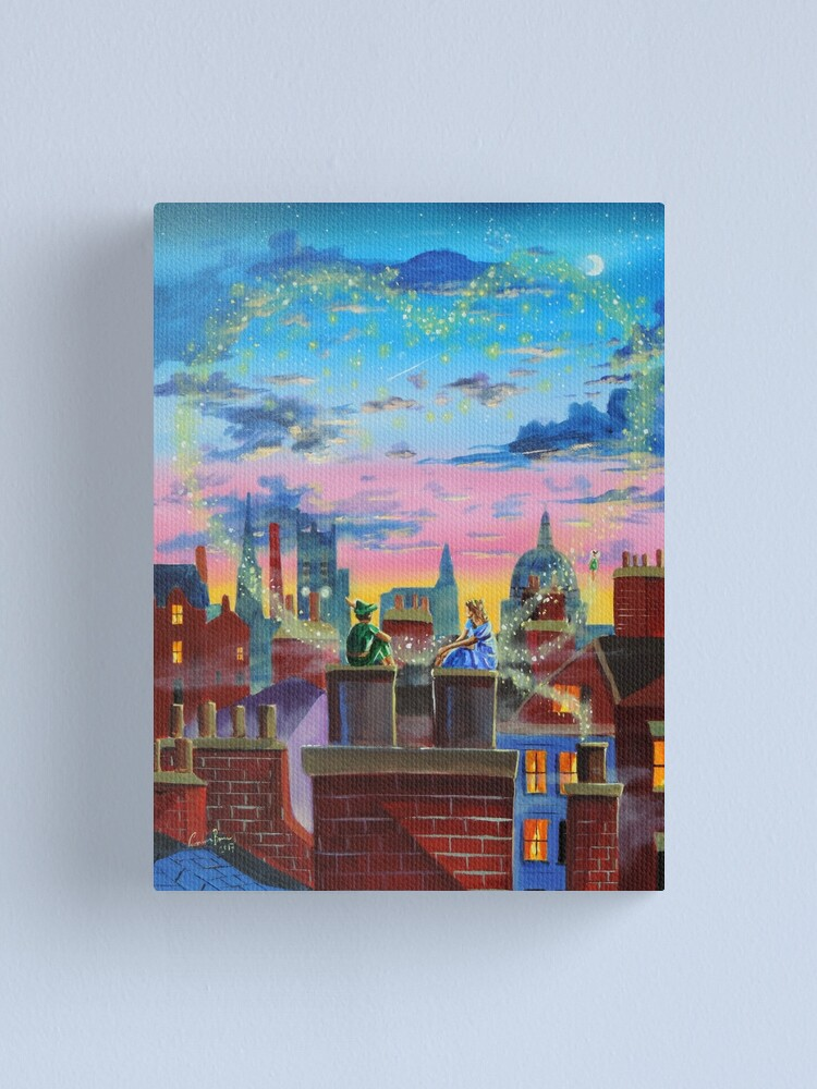 Alternate view of Peter and Wendy  Canvas Print