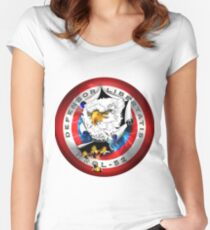 NROL-52 Program Logo Women's Fitted Scoop T-Shirt