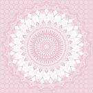 Boho Pink Mandala by Kelly Dietrich