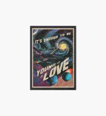 Jung und verliebt Galeriedruck