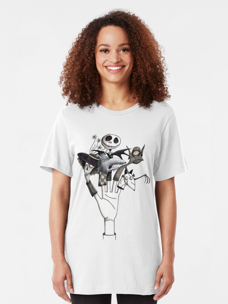 Jack Skellington Le Cauchemar Avant Noël Unisexe Enfants Adultes T-shirt Top