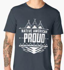 Native American Proud Men's Premium T-Shirt