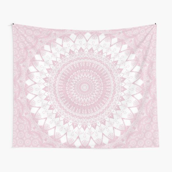 Boho Pink Mandala Tapestry