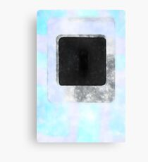 Color Problems Plate L Reworked No. 17, Series 3e Canvas Print