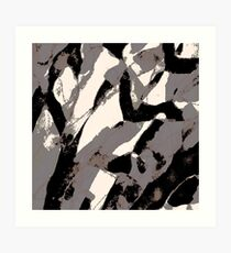 Organic No.2 Abstract #muted #redbubble #artprints #fineart Art Print