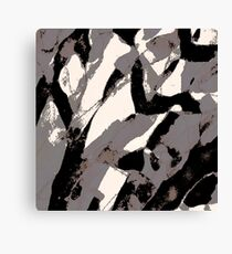 Organic No.2 Abstract #muted #redbubble #artprints #fineart Canvas Print