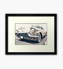 Art In Design - Cadillac!  Framed Print
